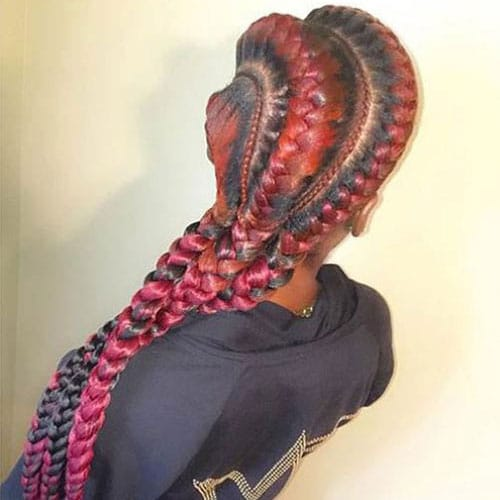 3 Goddess Braids Hairstyle