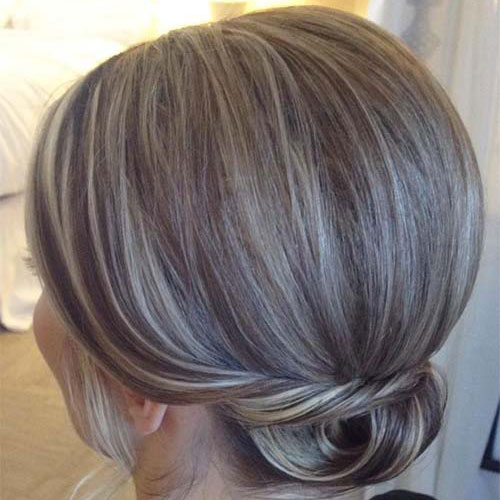 Adorable Chignon For Short Hair