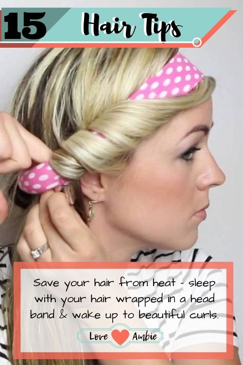 Best Hair Tips and Tricks - No Heat Curls