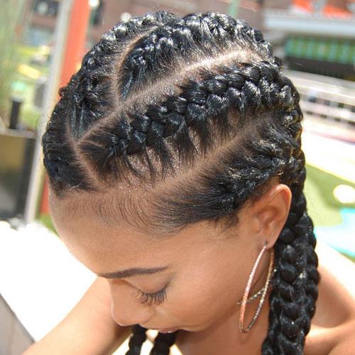 Crisscross Braids