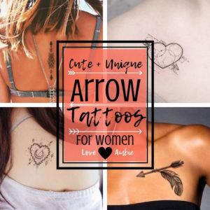 Cute and Unique Arrow Tattoos for Women - Arrow Tattoo Designs