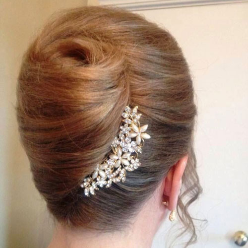 French Twist Updo