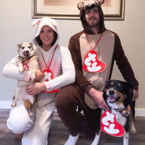 Matching Dog And Owner Halloween Costumes - DIY Dog Halloween costumes