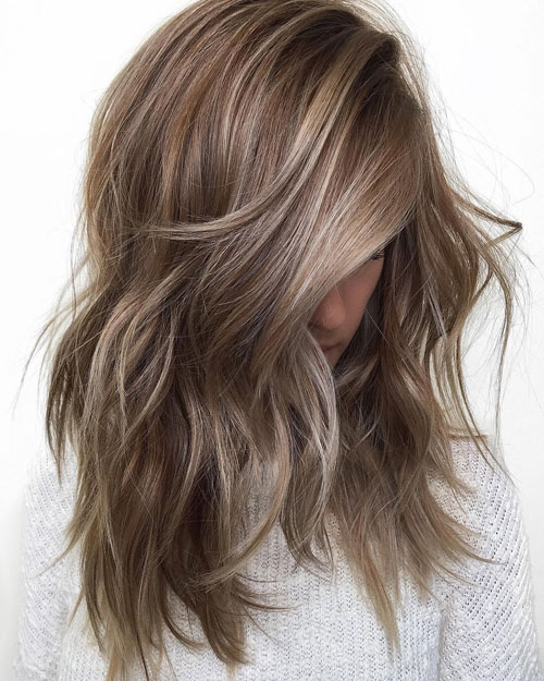 Medium Hairstyle Ideas - Medium length layered hairstyles