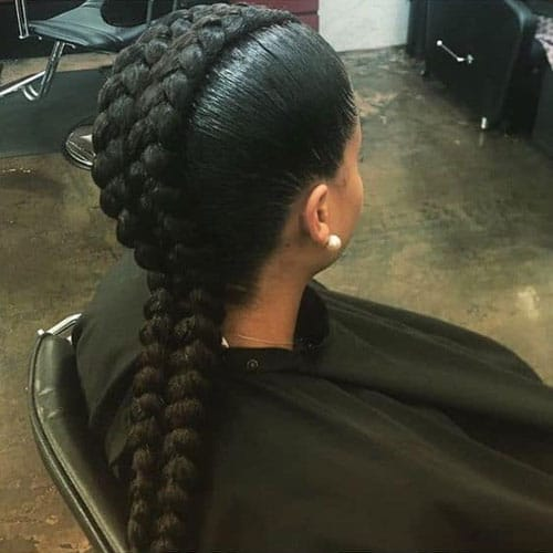 Mohawk Goddess Braids