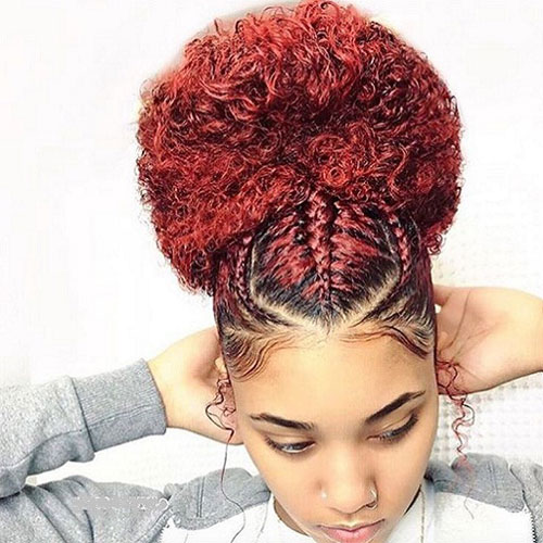 Red Goddess Braids