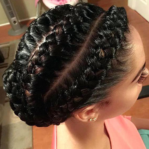 Under Braid Goddess Braids