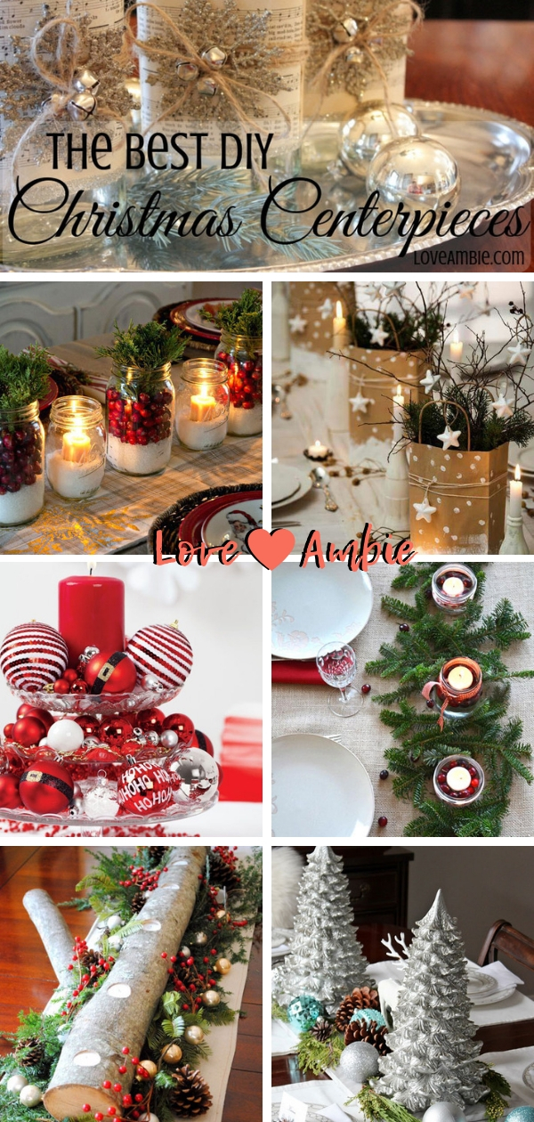 Christmas Centerpieces - Christmas Decorations - DIY Home Decor
