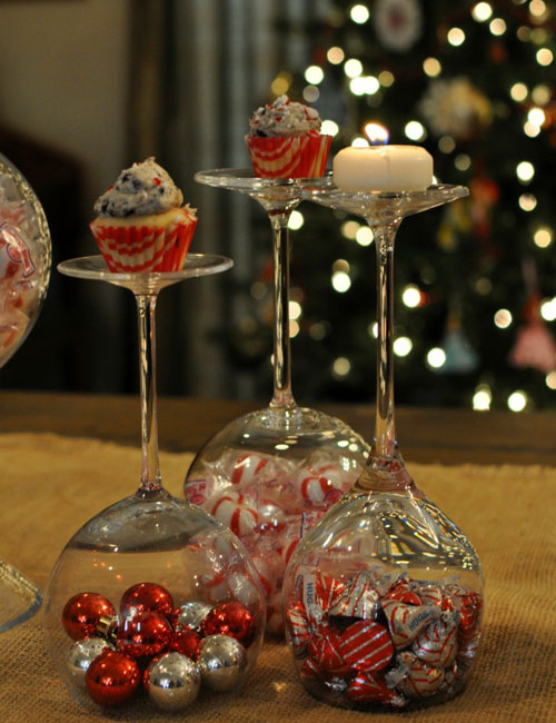 Christmas Coffee Table Decor - Christmas Centerpieces