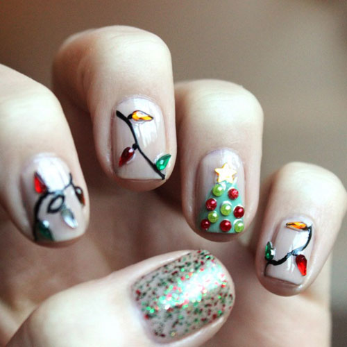 Christmas Nail Art - Xmas Nail Designs