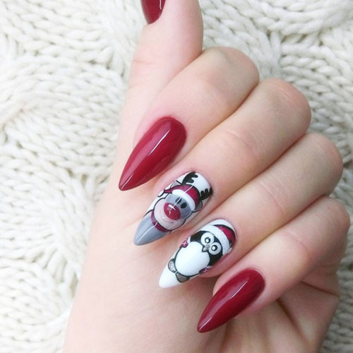 Christmas Nail Designs - Easy Designs