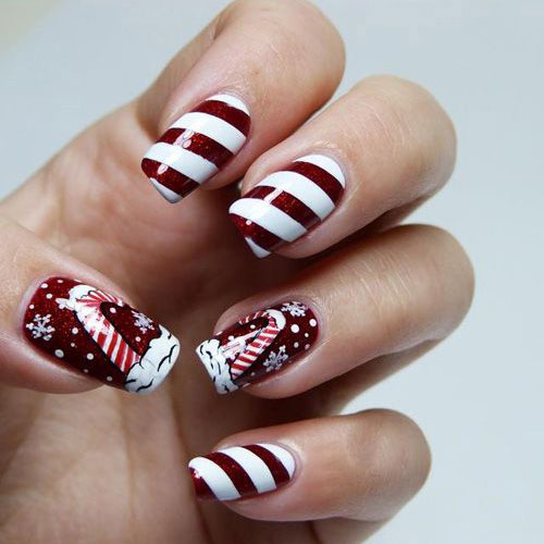 Christmas Nail Ideas and Designs