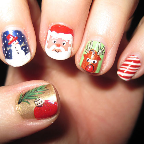 Christmas Nails - Christmas Themed Nails