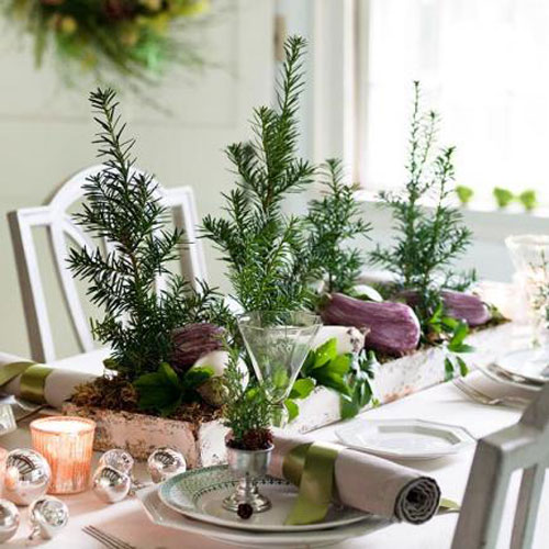 Christmas Table Centerpieces - Christmas Tree Table Decorations