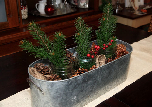 Christmas Tree Table Decorations - Christmas Centerpieces - Table Centerpieces