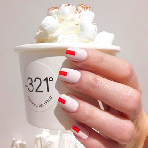 Easy Holiday Nail Art