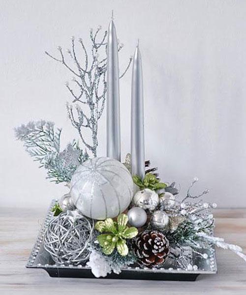 Elegant Christmas Centerpieces