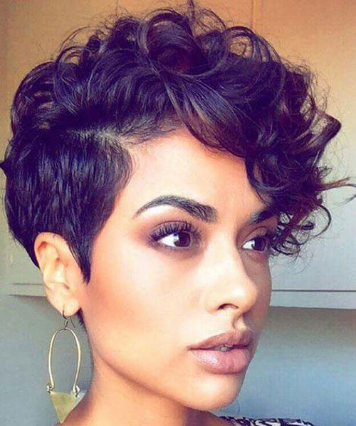Natural Short Haircuts For Black Women - Pixit Cut - Short Hairstyles For Women