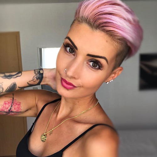 Sexy Short Haircut - Short Hairstyles For Women - Fauxhawk For Women - Fohawk For Women
