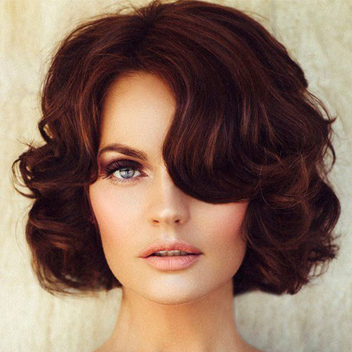 Short Bob Haircut For Thick Hair - Elegant Short Haircuts