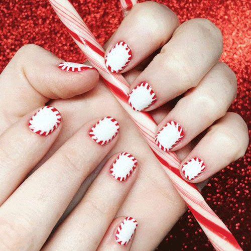 Simple Christmas Nail Ideas