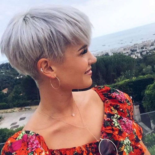 Tapered Bowl Cut For Women - Short Haircuts For Women