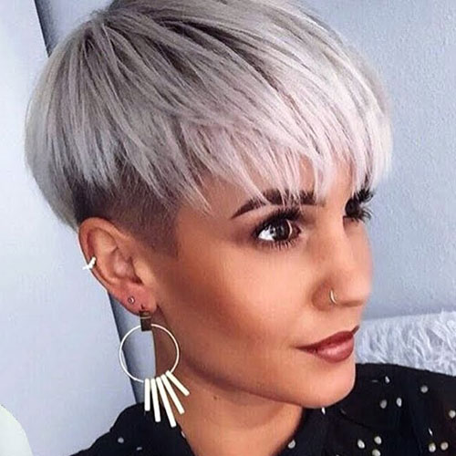 Tapered Bowl Cut - Short Hairstyles For Women