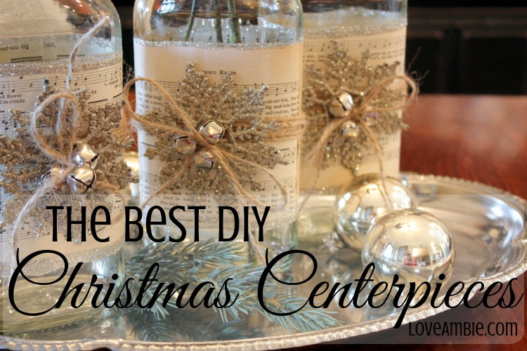 The Best DIY Christmas Centerpieces