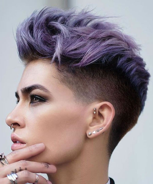 Undercut Fohawk - Bold Short Haircuts For Women