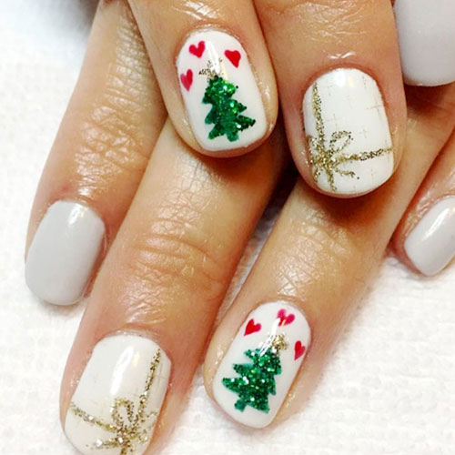 Unique Christmas Nails