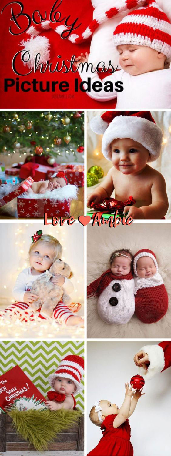 Christmas Pic Ideas.45 Baby Christmas Picture Ideas Capture Holiday Joy 2019