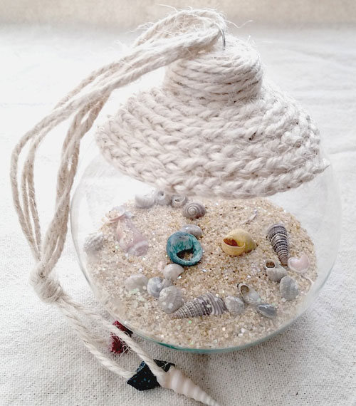 Beach DIY Ornament - DIY Christmas Ornament