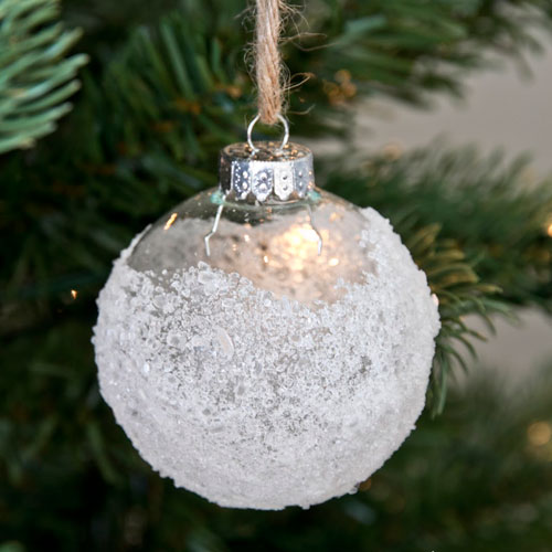Epsom Salt Ornament - DIY Christmas Ornament