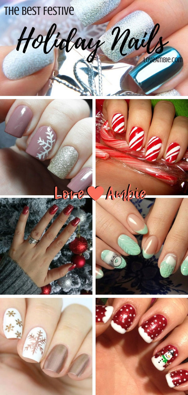 The Best Holiday Nail Art and Nail Designs