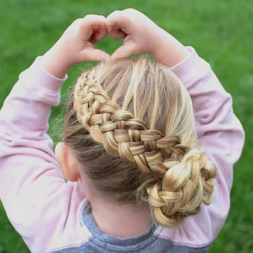 Adorable Braided Hairstyles For Little Girls