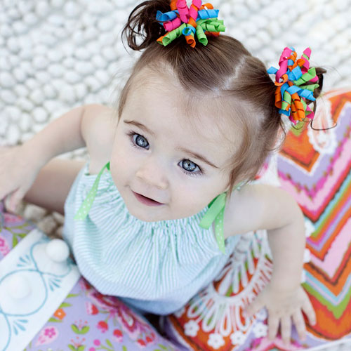 Adorable Double Bun Toddler Girl Hairstyles