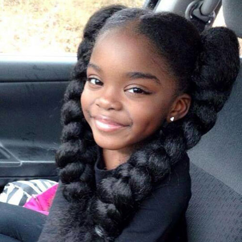 Braided Hairstyles For Little Girls - Black Toddler Hairstyles
