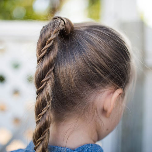 Braided Hairstyles For Little Girls - Little Girl Ponytail Hairstyles