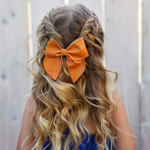 Braided Hairstyles For Little Girls - Toddler Hairstyles
