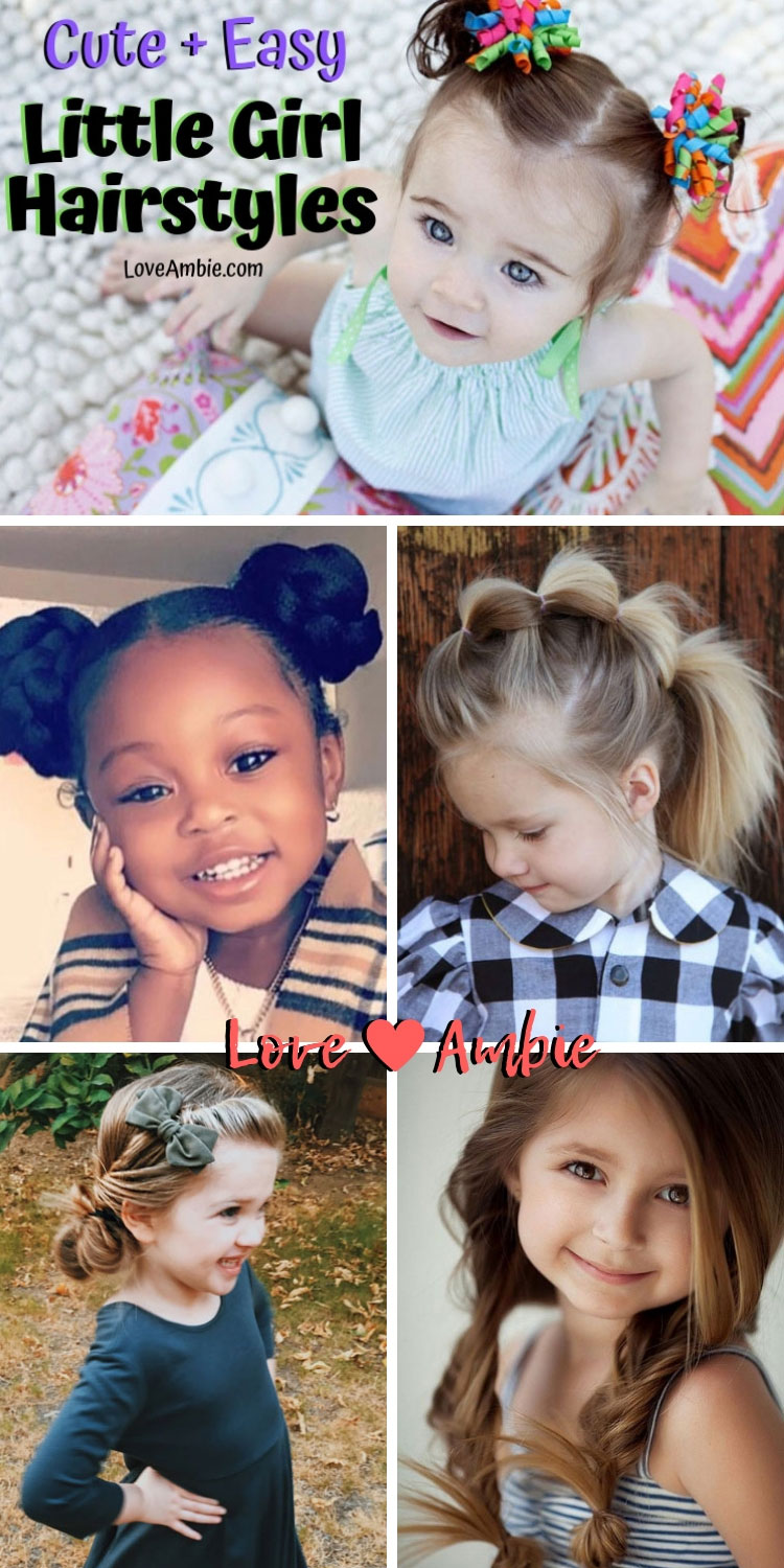 Easy and Cute Little Girl Hairstyles - Best Hairstyle Ideas