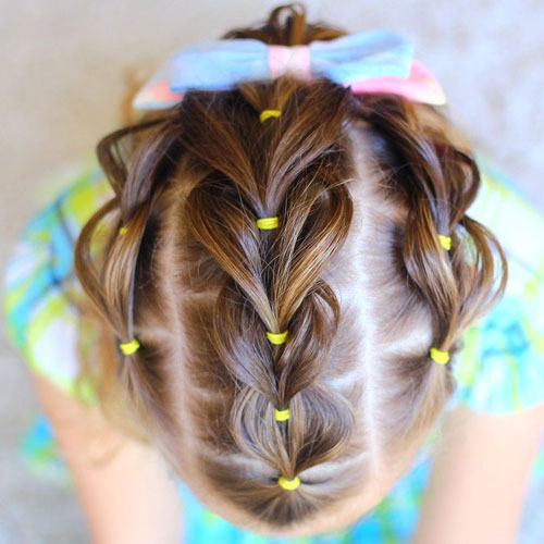 Little Girl Hairstyles - Unique Little Girl Braids
