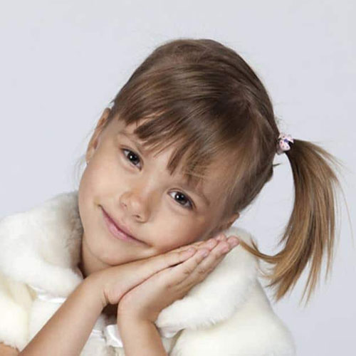 Ponytail Hairstyles For Little Girls - Toddler Hairstyles