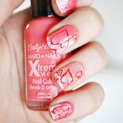 Beautiful Heart Nail Designs - Valentines Nails