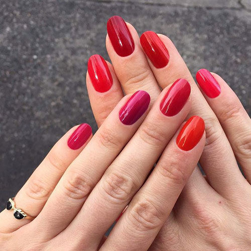 Easy Nail Color Ideas For Valentine's Day Nails