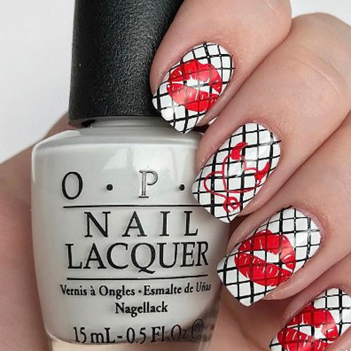 Unique Valentines Day Nail Designs