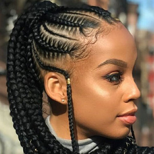 35 Best Black Braided Hairstyles For 2021