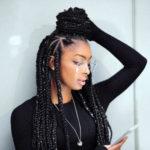 Long Lemonade Braids - Best Braided Black Hairstyles
