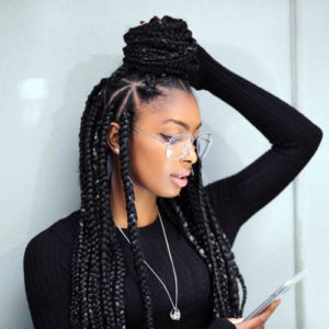 Long Lemonade Braids - Best Braided Black Hairstyles