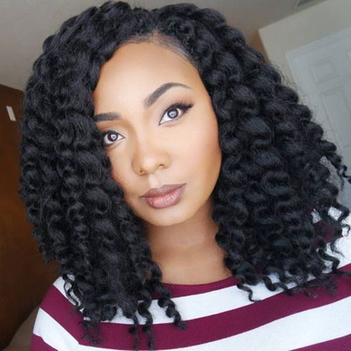 Thick Tree Braids - Best Braided Black Hairstyles
