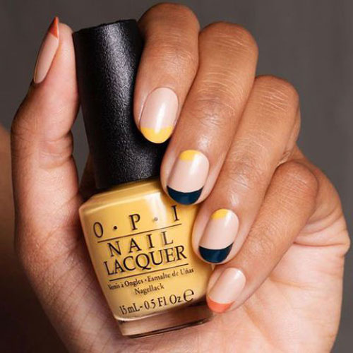 Simple Fall Nail Colors - Thanksgiving Nail Art